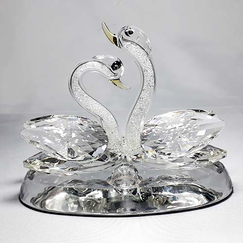 Picture of Swans Crystal