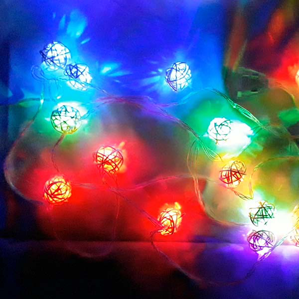 Picture of Multicolor LED String Light