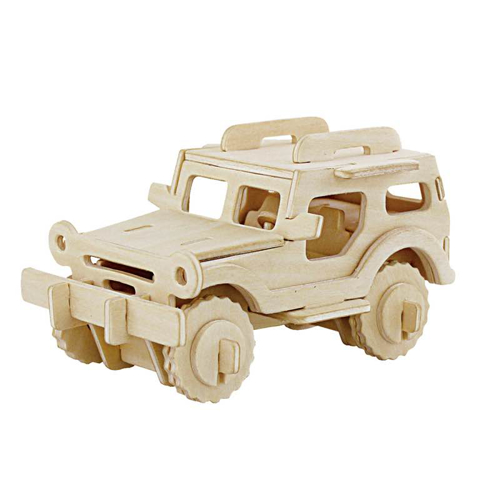 Picture of 3D Jeep Wooden Puzzle