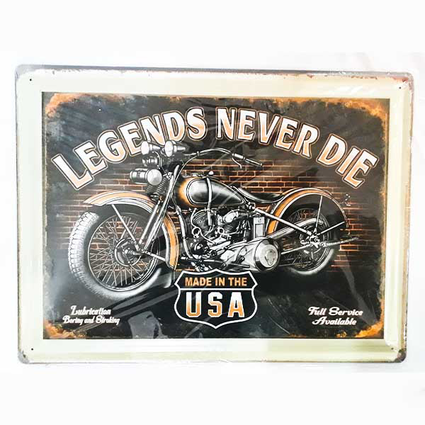 Picture of Metal Wall Tray - Motorcycle