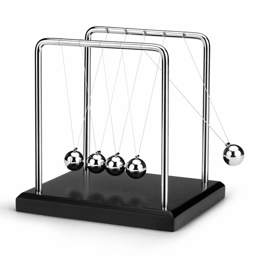Picture of Small  Newtons Cradle Balance Balls  Pendulum