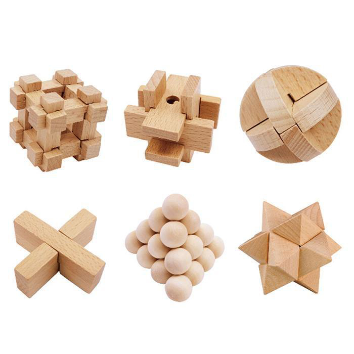 Picture of IQ Wood Puzzle