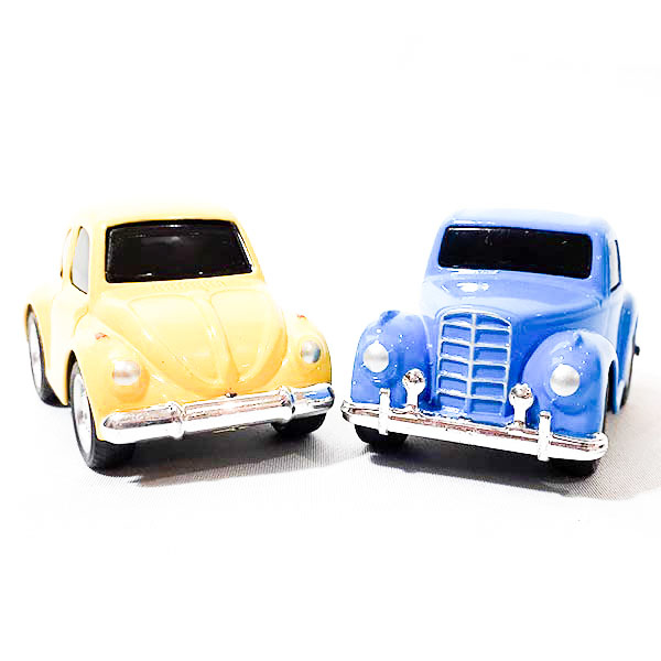 Picture of Two Mini Vintage Cars Toy
