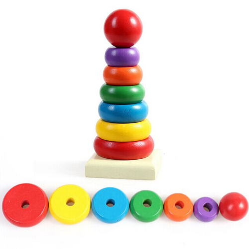 Picture of Wooden Rainbow Tower
