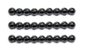 Picture of Magnetic Balls Black Chrome Color 15mm 16 Balls - Ball Size 1.5 cm