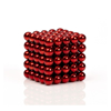 Picture of Magnetic Balls Red Color 5mm 125pcs - Cube Size 2.5x2.5 cm