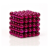 Picture of Magnetic Balls Pink Color 5mm 125pcs - Cube Size 2.5x2.5 cm