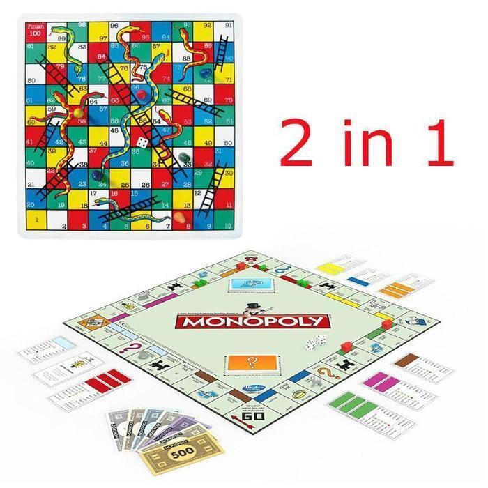 Picture of 2in1 Family Game Snakes and Monopoly