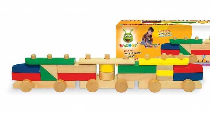 Picture of Wooden Train Puzzle