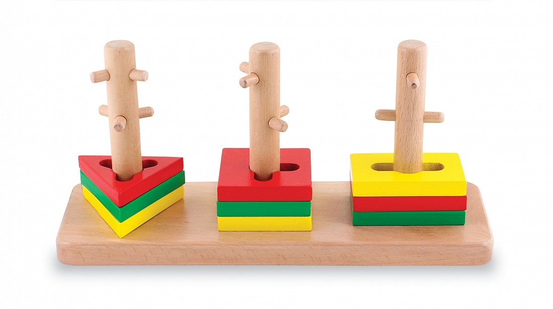 Picture of Wooden Smart Shapes