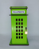 Picture of Telephone Booth Box - Money Box (Piggy Bank) - Green Yellow