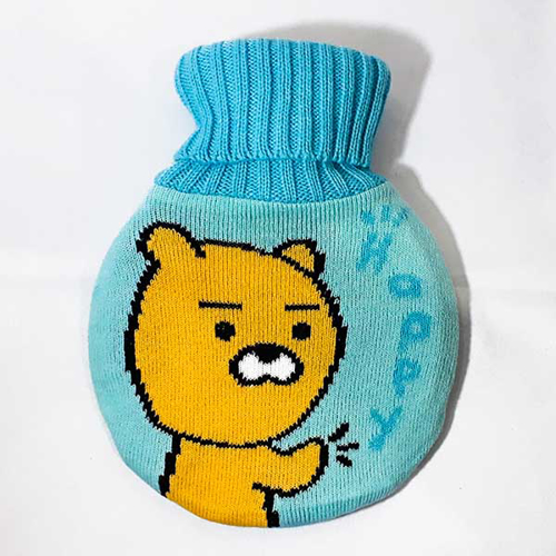 Picture of Hot Water Bottle - Blue