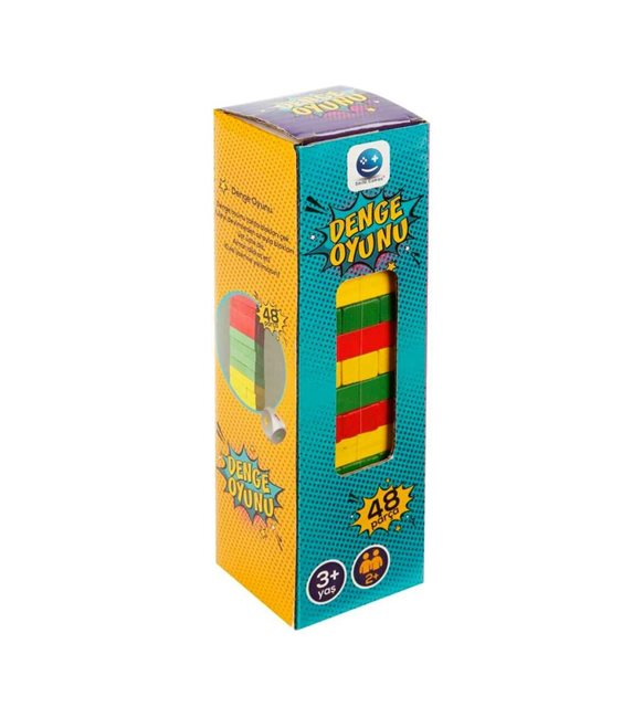 Picture of Mini Jenga - 48 Pieces colored