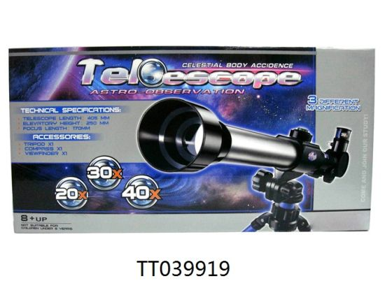 Picture of CHILDREN'S TRINE TELESCOPE WITH LENSES