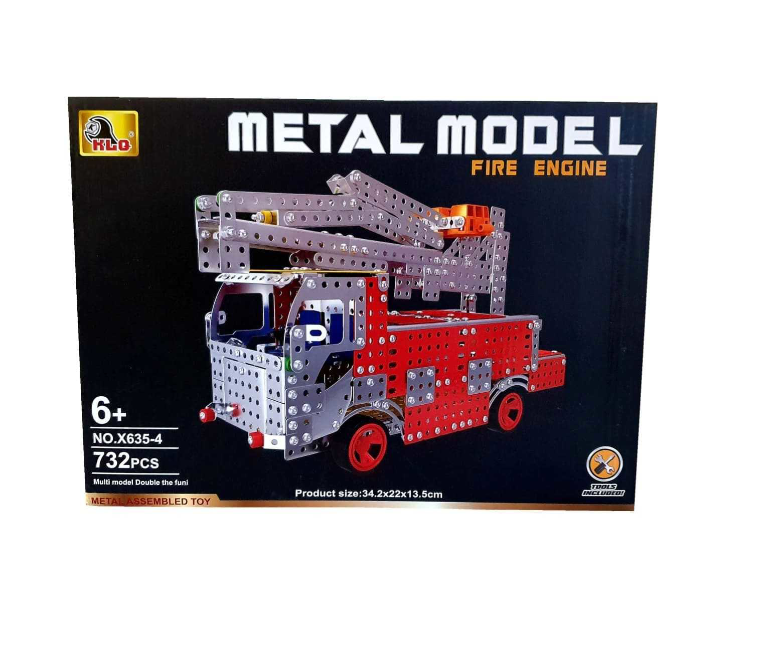 Picture of Stainless Steel ,732Pcs Fire truck
