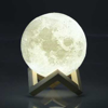 Picture of 3D Moon Lamp - Shiny Moon - Multi Colors - 14 cm Diameter - USB Cable
