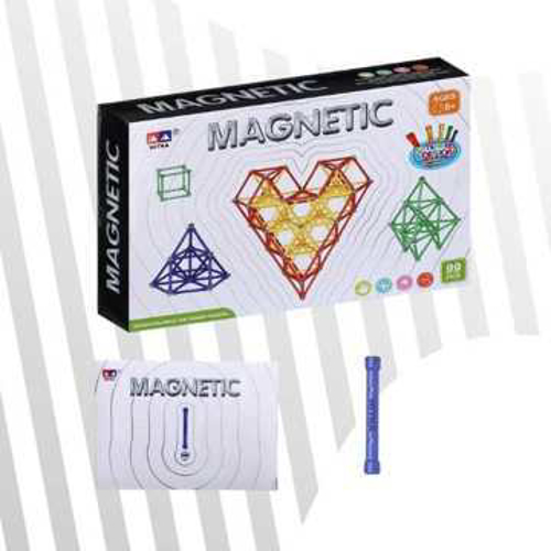 Picture of Magnetic Balls And Sticks Huge Size