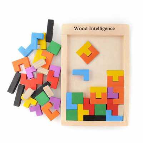 Picture of Wooden Tetris Puzzle