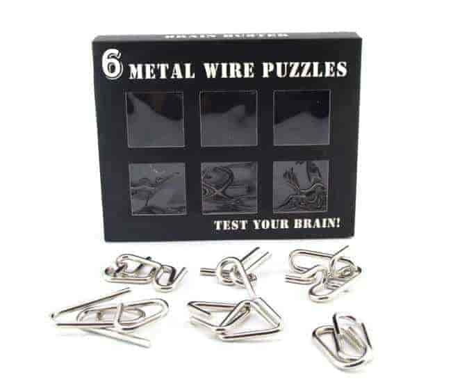 Picture of IQ Metal Wire Puzzle