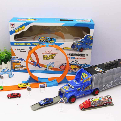Picture of Collection of  cars in the truck