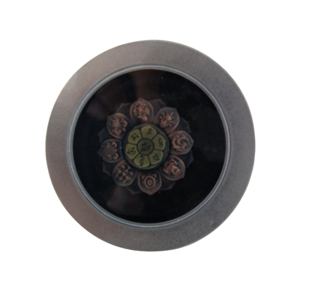 Picture of Flower Shaped Hand Spinner - Bronze