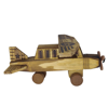 Picture of Wooden Toy Airplane Old Fashioned