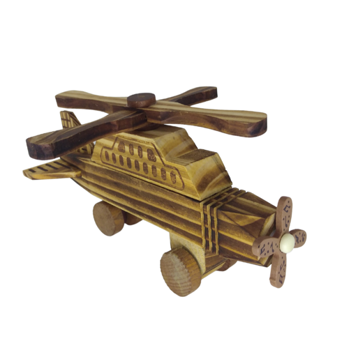 Picture of Wooden toy airplane