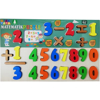 Picture of Math English Numbers Board