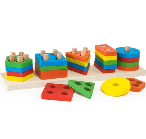 Picture of Wooden Shapes Puzzle