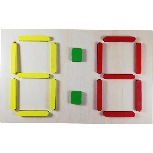Picture of Digital Clock Puzzle