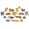 Picture of Lion – ANIMAL WOODEN JIGSAW PUZZLE - copy