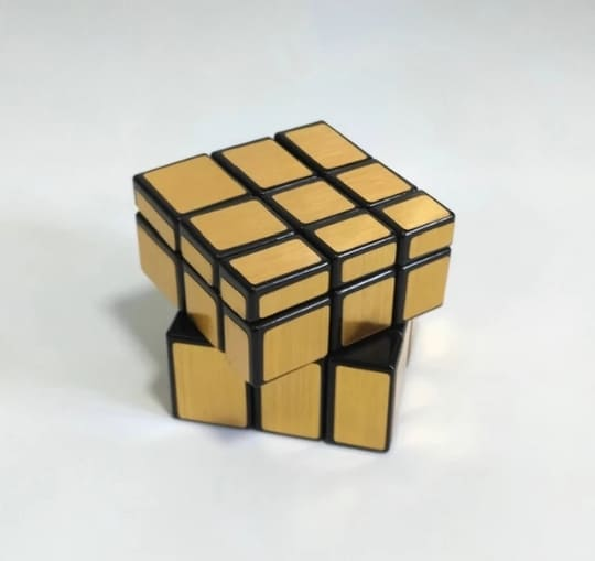 Picture of Magic Cube Puzzle Toy-gold