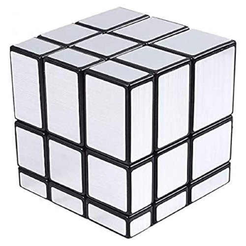 Picture of Magic Cube Puzzle Toy-silver